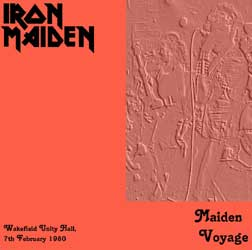 Front cover of Iron Maiden - Maiden Voyage