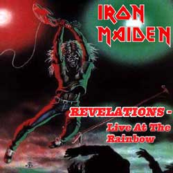 Front cover of Iron Maiden - Revelations - Live at the Rainbow
