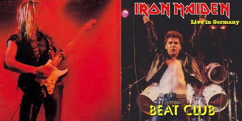 Front cover of Iron Maiden - Beat Club