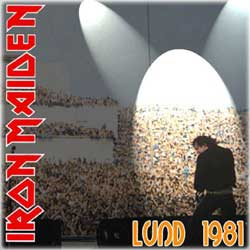 Front cover of Iron Maiden - Lund