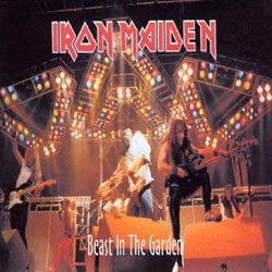 Front cover of Iron Maiden - Beast In The Garden