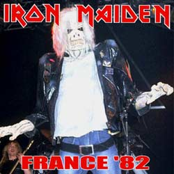 Front cover of Iron Maiden - France '82