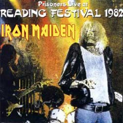 Front cover of Iron Maiden - Prisoners Live At Reading Festival