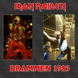 Front cover of Iron Maiden - Drammen 83