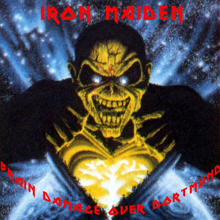 Iron Maiden Bootlegs - Brain Damage Over Dortmund