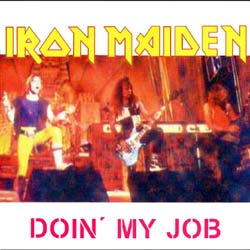 Front cover of Iron Maiden - Doin' My Job