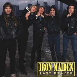 Front cover of Iron Maiden - Last Prayer