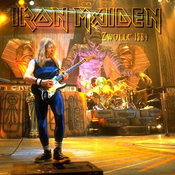 Iron Maiden Bootlegs - Zwolle 84