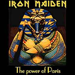 Front cover of Iron Maiden - The Power Of Paris