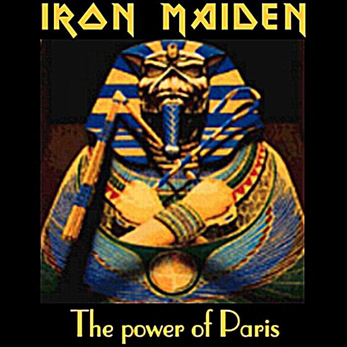 Iron Maiden Bootlegs - The Power Of Paris