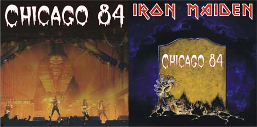 Front cover of Iron Maiden - Chicago 84