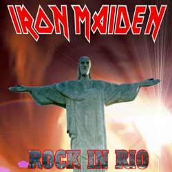 Front cover of Iron Maiden - Rock In Rio
