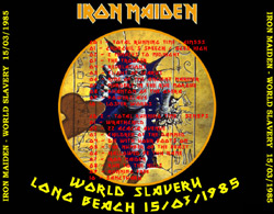 Back cover of Iron Maiden - World Slavery