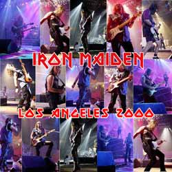 Front cover of Iron Maiden - Los Angeles 2000