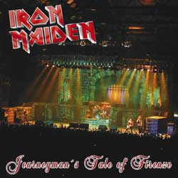 Front cover of Iron Maiden - Journeyman's Tale of Firenze 2003