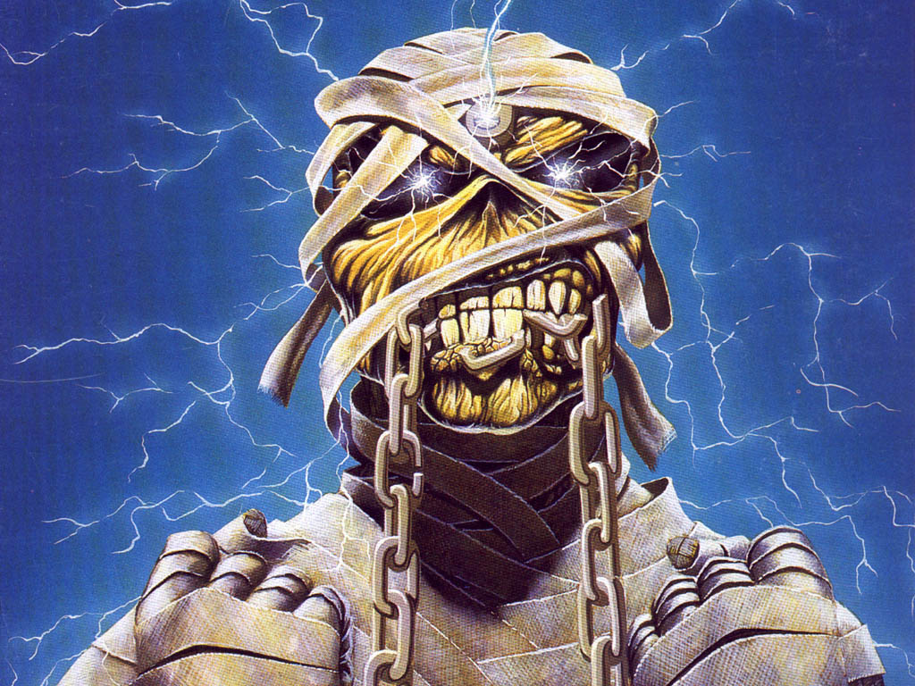 Mummy Eddie Wallpaper